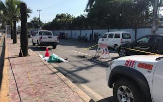 Muere hombre impactado por vehículo en la avenida Jacobo Majluta