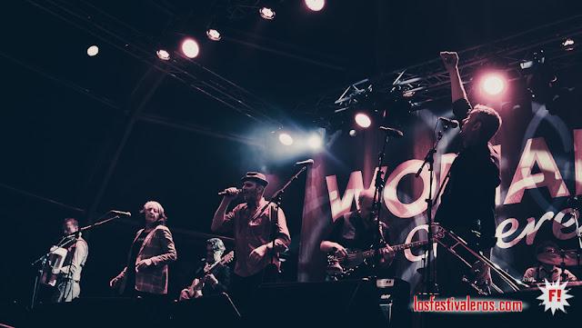 WOMAD FESTIVAL 2019, CÁCERES  / Les négresses vertes
