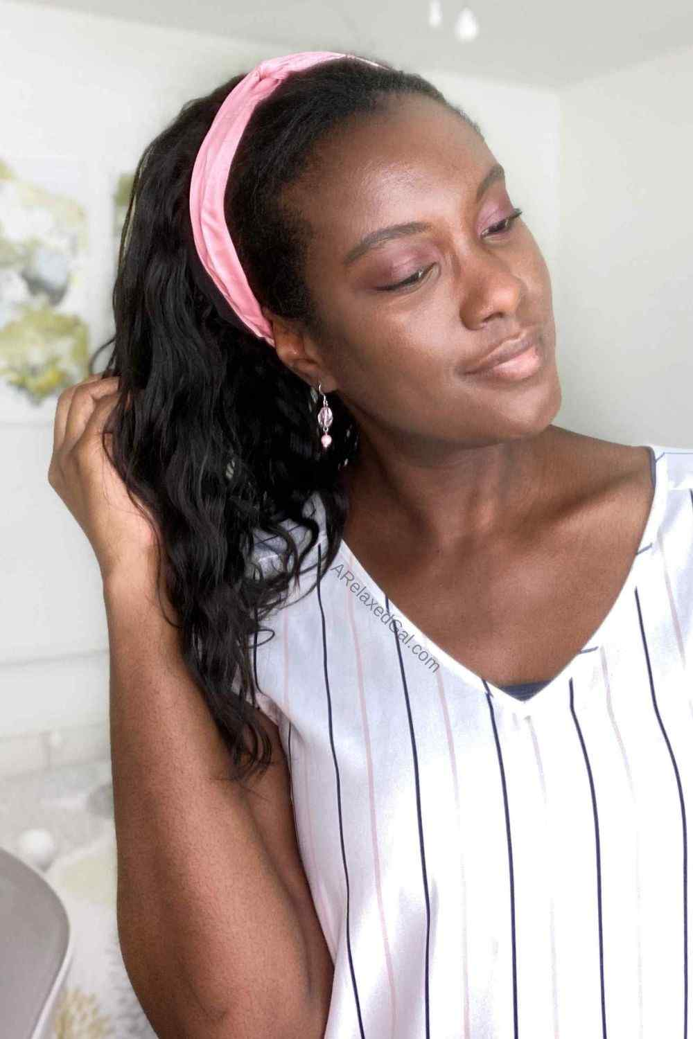 LuveMe Hair Affordable Headband Wig Review   A Relaxed Gal