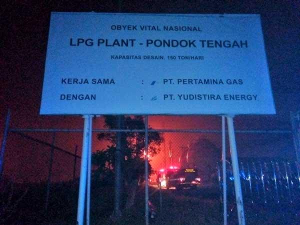 LPG Pondok Tengah Di Babelan Sempat Terbakar