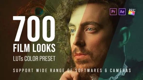 Videohive - 700 Film Looks