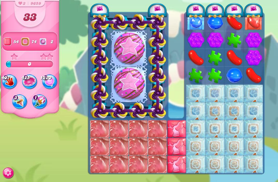 Candy Crush Saga level 9659