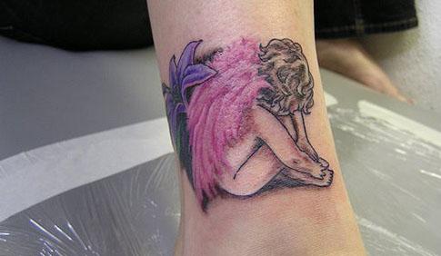 Angel Tattoo Designs For Women | Fashion Club