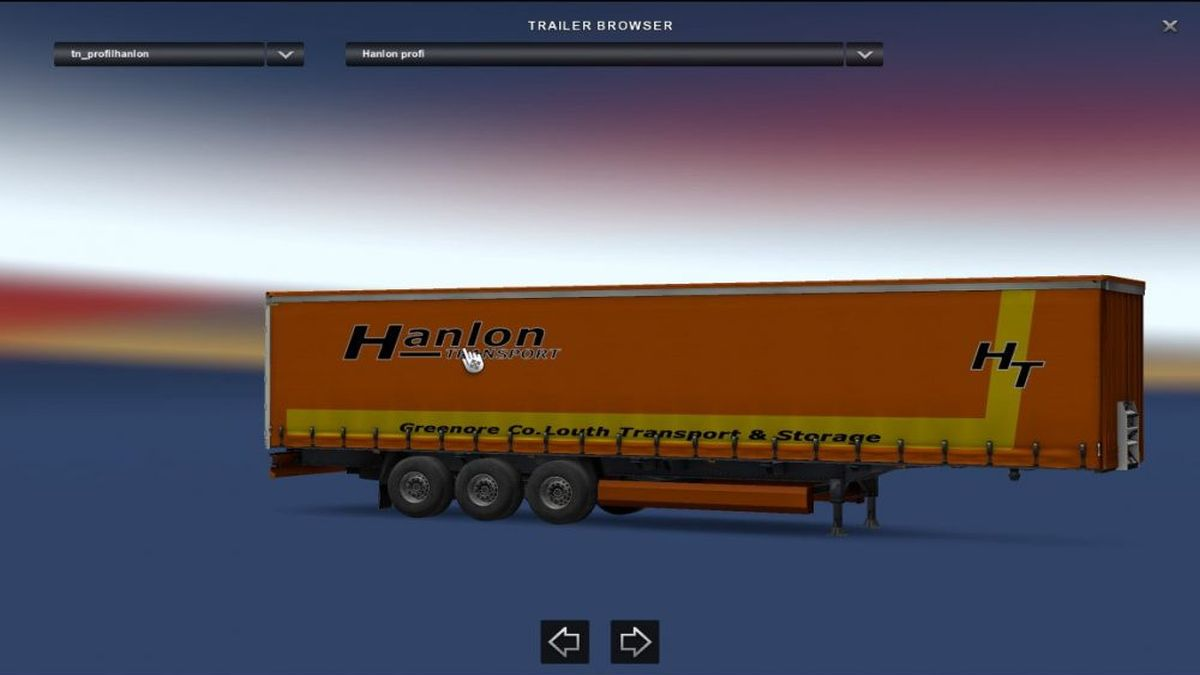 Hanlon Transport Trailer