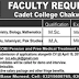 The Cadet College Chakwal Jobs