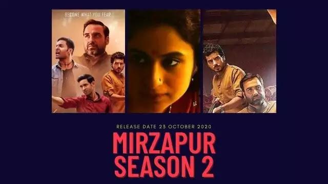Mirzapur Season 2 Filmyzilla 720p Download