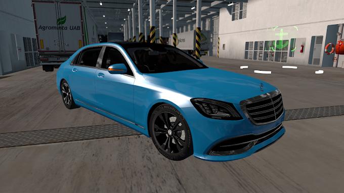 ETS 2 - Mercedes Benz S650 Maybach 2018 V6 Modu (1.40)