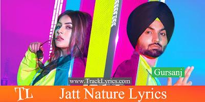 jatt-nature-song-lyrics