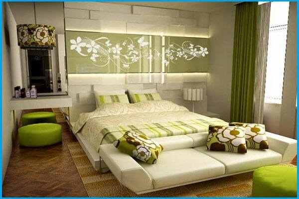 wall painting designs for bedroom