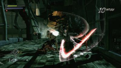 Spesifikasi PC untuk Ninja Blade        Sinopsis  Ken Ogawa juga dipersenjatai sebuah Ninjutsu, sejenis Shuriken yang memiliki elemen listrik, api, dan udara. Fungsi elemen pada Ninjutsu memiliki peranan penting dalam melanjutkan ke level berikutnya. Dimana, pemain harus menyelesaikan puzzle sederhana, seperti mengunakan Ninjutsu berelemen api untuk meledakan tentakel yang memblokir jalan, mengunakan shuriken berelemen udara untuk menghembuskan api yang memblokir jalan, dsb.           Pedang dan ninjutsu milik Ken Ogawa juga dapat diupgrade dengan mengumpulkan Blood Crystals disepanjang permainan. Saat mengakses menu inventori, pemain bisa mengupgrade pedang, ninjutsu, dan mengunakan adrenalin boost untuk meningkatkan kecepatan serta item First Aid Spray untuk mengembalikan seluruh meter health pada Ken Ogawa. Disamping itu, pemain juga dapat menebas drum atau peti yang terdapat di sepanjang level permainan.untuk mengumpulkan point health. Saat meter health mulai menipis, pemain akan melihat layar permainan berubah menjadi kabur dan kecepatan bergerak Ken Ogawa terasa menjadi lambat.     Musuh yang dihadapi dalam game ini cukup bervariasi dengan tingkat kesulitan yang berbeda, mulai dari mutant biasa, kemudian mutant yang memiliki tameng, selanjutnya mutant yang memiliki kecepatan dalam bergerak hingga ada yang bisa terbang. Bahkan setiap level di game ini, pemain akan bertemu dengan Boss Battle yang bentuknya raksasa dan berbeda-beda. Untuk mengalahkan