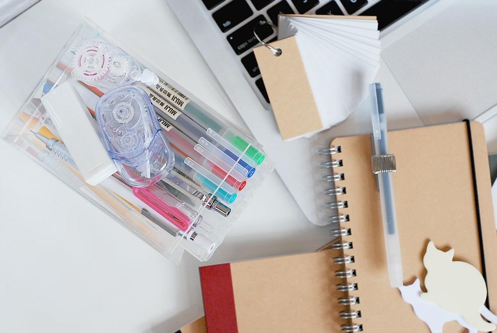 MUJI stationery review blog