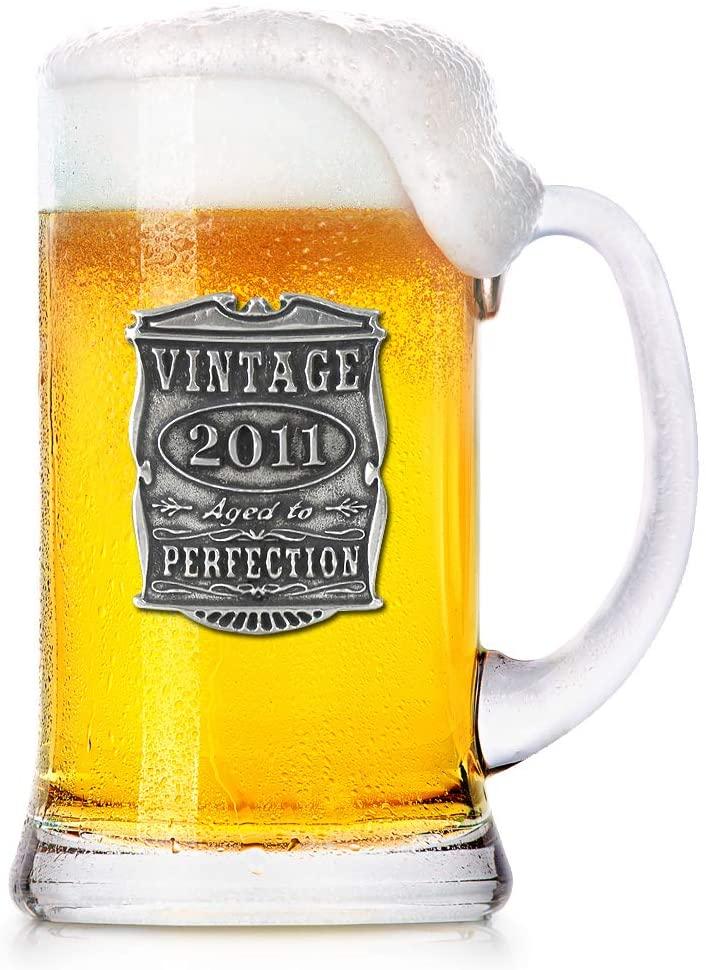 Vintage Beer Mug Glass
