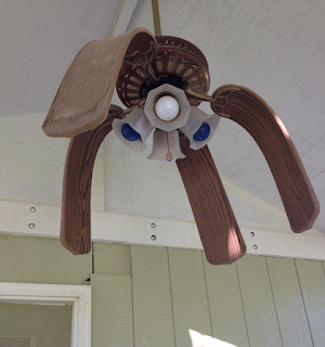 just texas weather melted fan blades