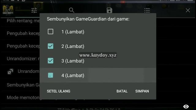 Cara Cheat Call of Duty Mobile| Legends of War Terbaru