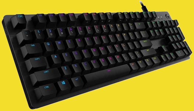 Logitech G512: teclado mecánico con interruptores táctiles, retroiluminación RGB y distribución QWERTY española