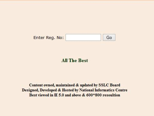 Karnataka SSLC Result 2013