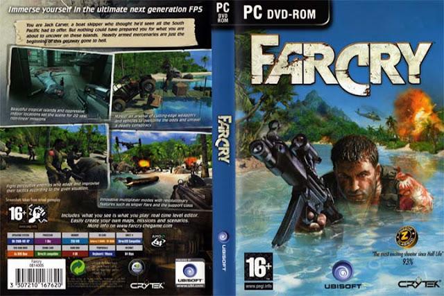 تحميل لعبة far cry 1 للكمبيوتر من ميديا فاير