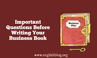 Important Questions Before Writing Your Business Book