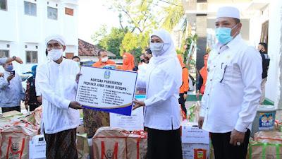 168 Pesantren Tangguh Terima Bantuan Pendisiplinan Penegakan Protokol Kesehatan dari Pemprov Jatim
