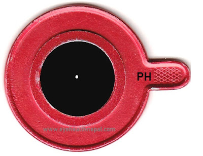 Pin hole ophthalmic lenses