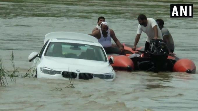 Rapaz mimado joga BMW em rio após não ganhar Jaguar dos pais de aniversário