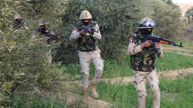 Egypt military says 36 Daesh terrorists killed in Sinai clashes