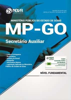 apostila Secretário Auxiliar MPGO - Ministério Público de Goiás