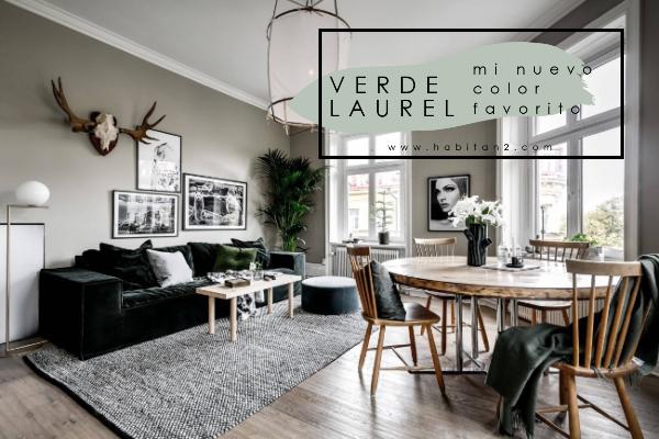 Verde laurel, mi nuevo color favorito by Habitan2 | Papelería y eventos