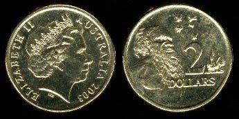 Australia  2 Dollars coins