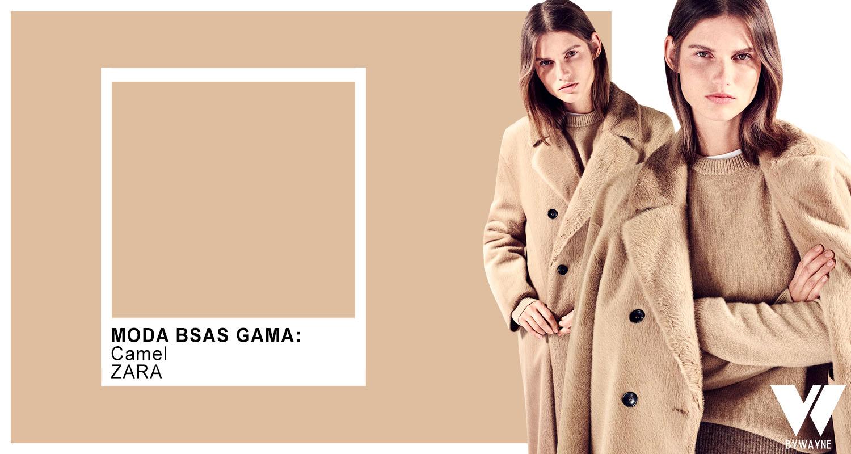 Camel beige crudo y hueso colores de moda otoño invierno 2021