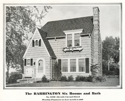Sears Barrington 1930 catalog image dormer roof look same as 1931