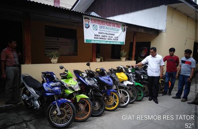 Motor Kamu Hilang..? Coba Deh Cek di Polres Tana Toraja, Hasil Bobolan Maling