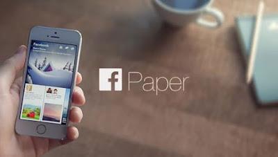 Facebook Paper aplicación noticias
