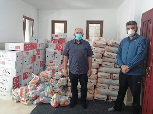 Humanitarna akcija u Plavu i Gusinju: TIKA donirala 200 paketa pomoći