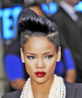 Terrific Hairstyle For Celebrity Rihanna Haircuts Celebrity Hairstyles Hairstyles For Men Maxibearus