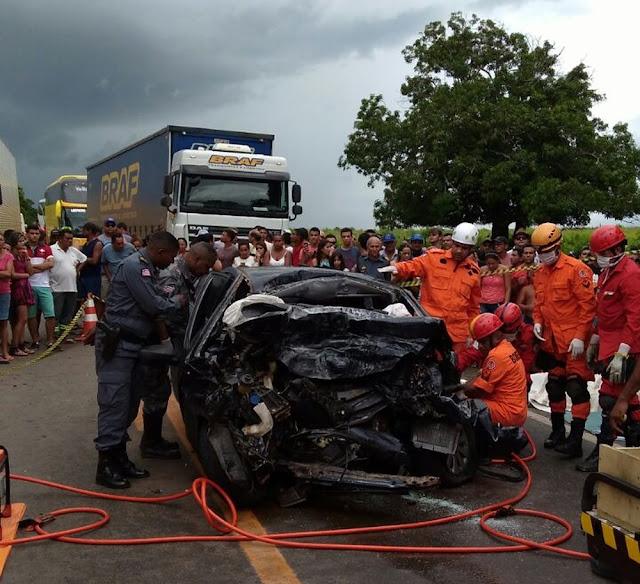 Em 2017, 245 pessoas morreram nas rodovias federais do Maranhão