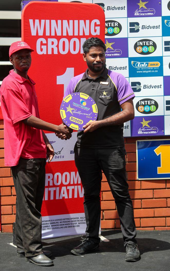 Grooms' Initiative Winners - 12th January 2020 - Race 2 - Musa Ngozi - WOLFGANG