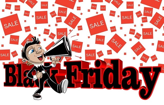 black friday sales cyber monday deals retail marketing store promotional savings