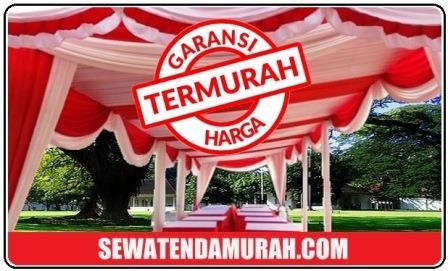 harga sewa tenda murah pernikahan di Jakarta selatan