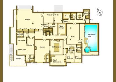 Villa Cullinan Marbella Floor Plan