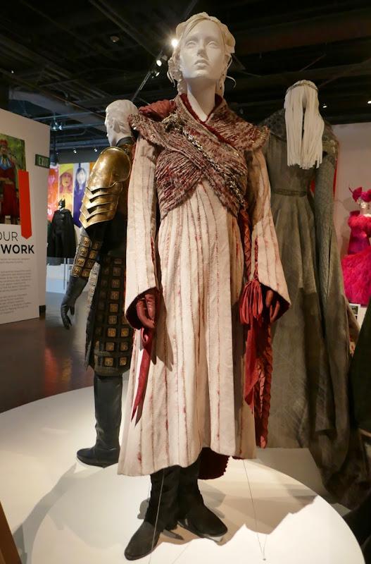 Emilia Clarke Game Thrones Daenerys final season costume