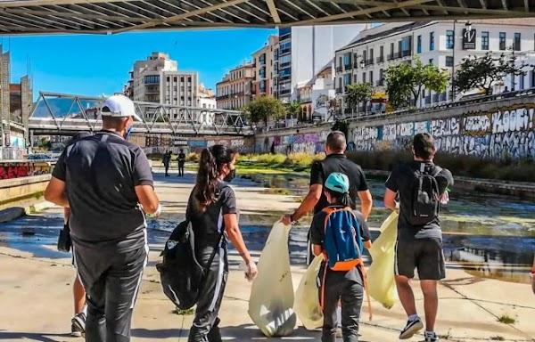 El Málaga Genuine decide unirse al Plogging Tour