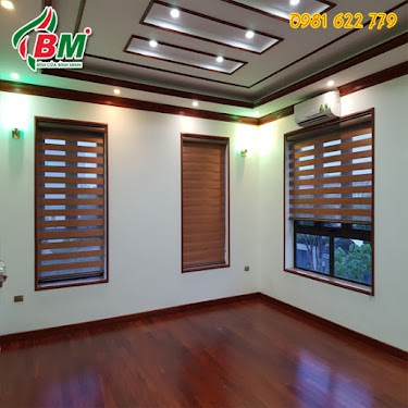 Rèm cầu vồng lật hàn quốc màu cà phê sang trọng cho cửa sổ xinh,thiết kế của bình minh đồng xoài