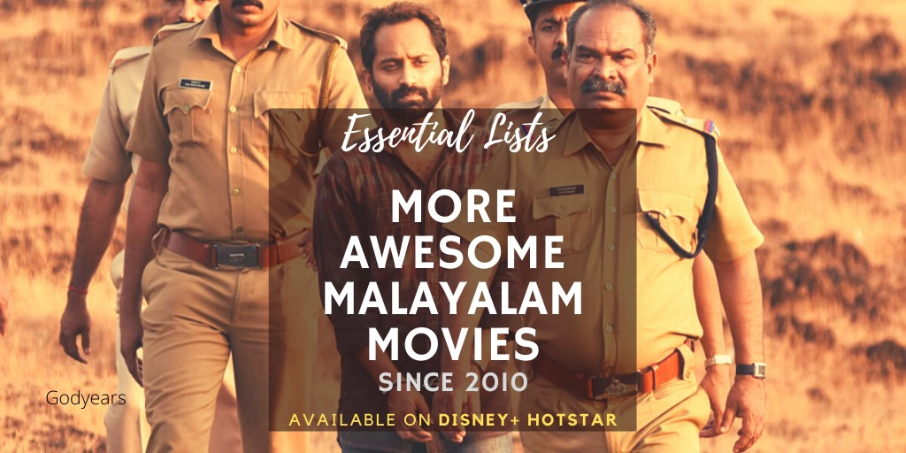 More Awesome Malayalam Movies Since 2010 on Disney Hotstar