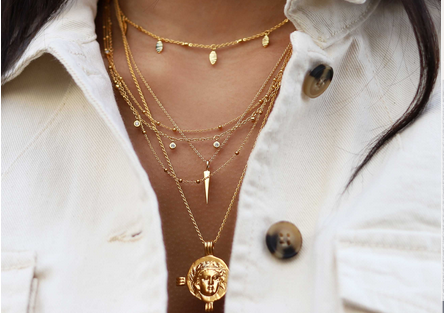 Missoma Layering Necklaces