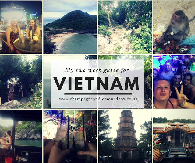 Two week guide to vietnam