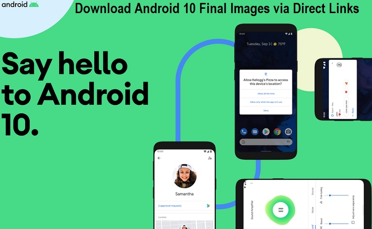 Download Android 10 Final Images