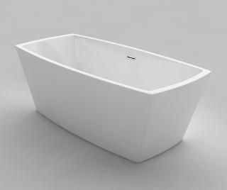 square-bathtub-top-view