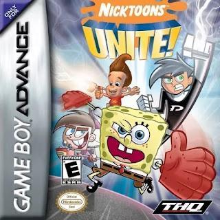 Nicktoons Unite! ( BR ) [ GBA ]