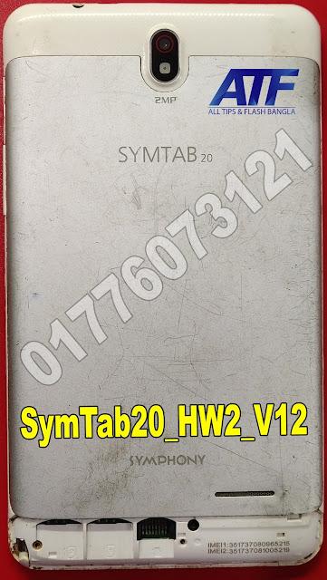 SYMPHONY SYMTAB 20 FLASH FILE FIRMWARE